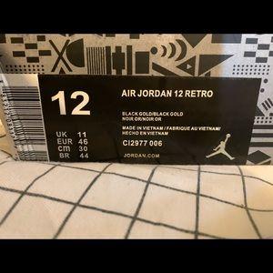 White Gold Air Jordan 12 Retro